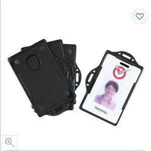 *Free Add On* Staples ID Card Holder 4 pcs